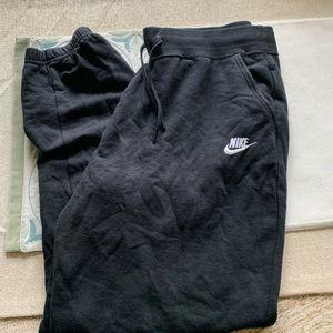 Nike Pants - Women's Black Nike joggers size Large